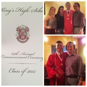 Joe graduates