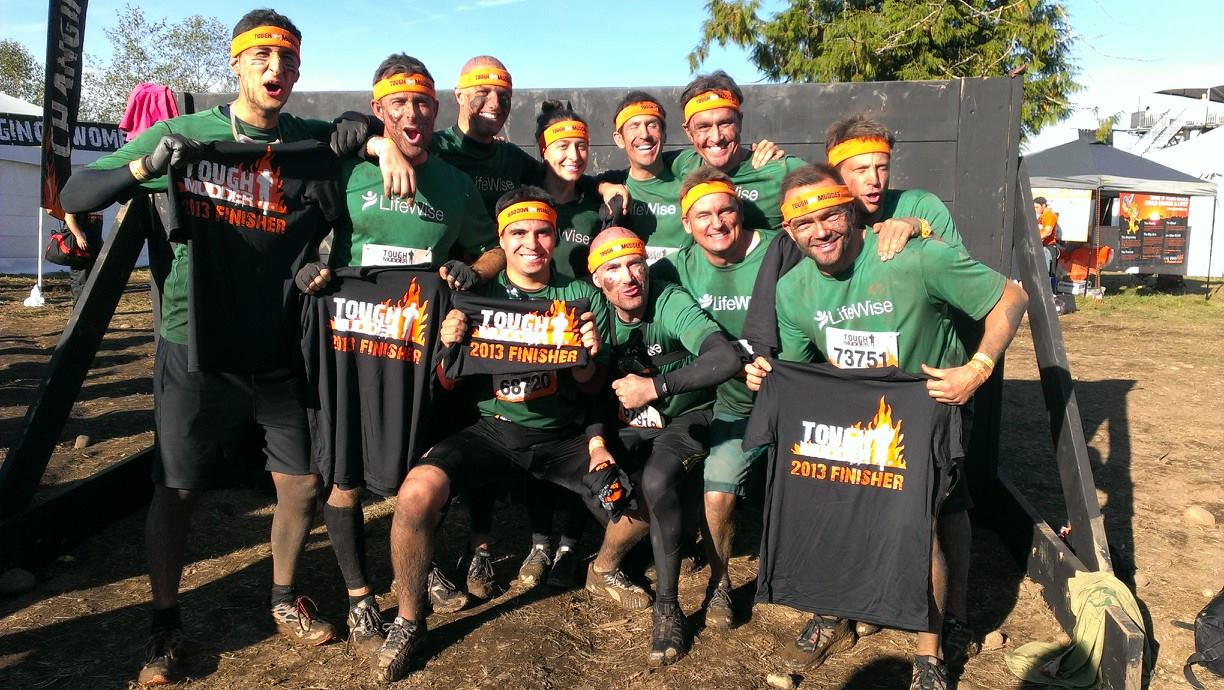 2013 Tough Mudder team